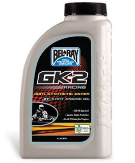 Bel-Ray GK-2 Racing Kart 100% Synthetic Ester 2T Engine Oil
