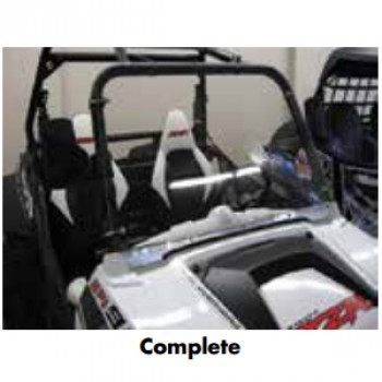 Complete Front Windshield
