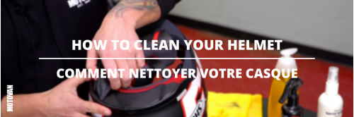 Tuesday Tips - How To Clean Your Motorcycle Helmet