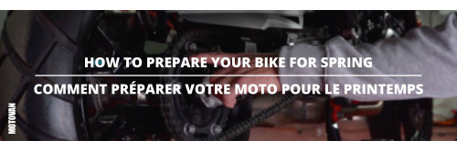 Tuesday Tips - How To Prepare Your Bike for Spring