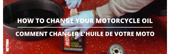 Tuesday Tips - How To Change Your Motorcycle Oil