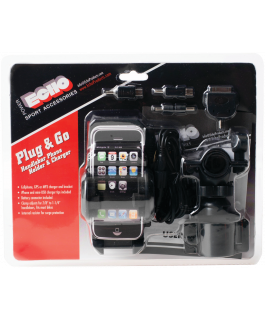 Plug & Go support & hook-up kit