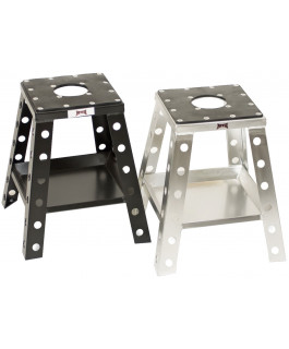 Aluminum flat bar motorcycle stand