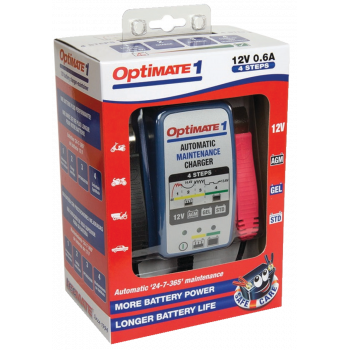 OptiMate 1 (0.6 Amps) Batteries & Chargers