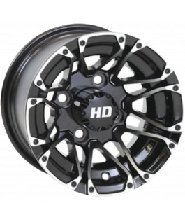 STI HD3 Golf Wheel Machined & Gloss black