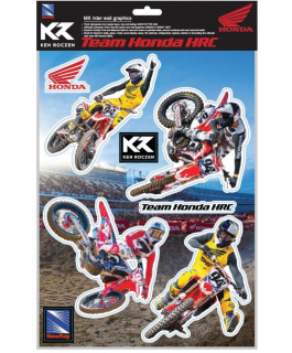 Team Honda HRC vinyl wall graphics