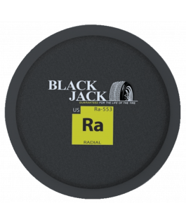 Round radial tire patch