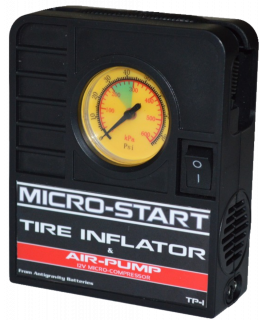 Micro-Start Tire inflator and air pump