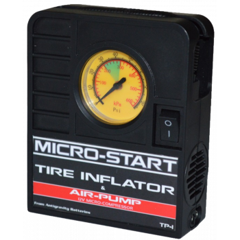 Micro-Start Tire inflator and air pump Batteries & Chargers