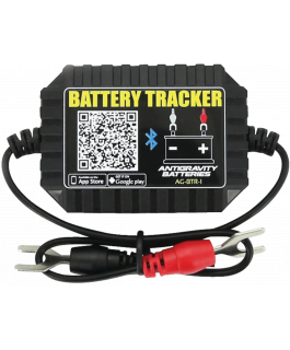 Wireless lithium battery tracker