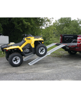 Aluminum ramp for motocycle and ATV