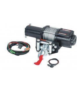 Quadrax® 3600lbs ATV winch with wired remote