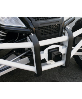 Front & rear bumper grill with removable 2