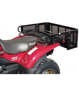 Universal rear ATV drop basket