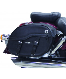Nashville Classic saddlebags with Lock