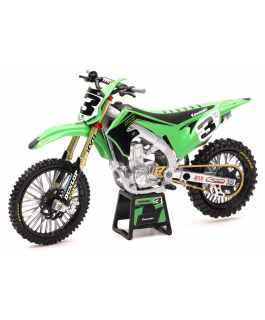 2019 Kawasaki Factory team KX450F 1:12