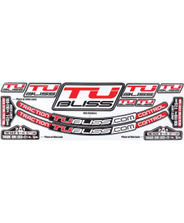 Rim sticker kit for TUbliss system