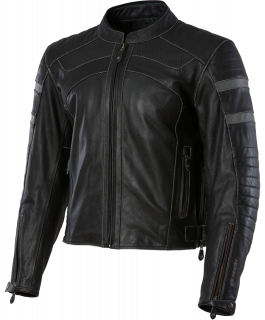 Men's Long Beach leather jacket