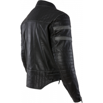Men's Long Beach leather jacket Motorcycle Jackets & Pants