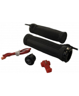 Dual level ATV clamp-on heated grip kit