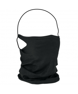 Gaiter mask with PM2.5 filter