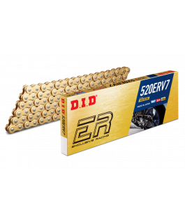 520ERV7 Premium Road Racing X-Ring Gold/Gold