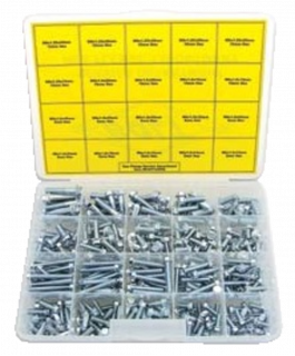 Hex flange bolt assortment