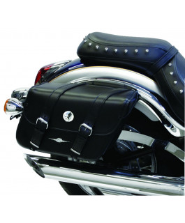 Standard Houston Classic Leather Tek saddlebags