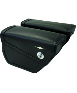 Albany Sleek saddlebags
