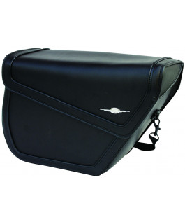 Albany Sleek saddlebags with strap