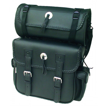 Tucson backrest bags with superimposed round bag