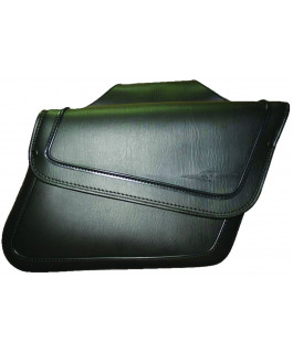 Houston Sleek saddlebags