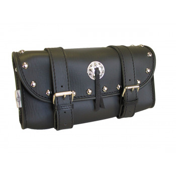 Tool pouch studded chrome Parts & Other Accessories