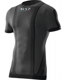 TS1L Short-sleeve round neck jersey carbon Underwear®