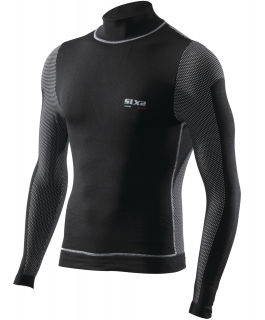 Long sleeve turtleneck jersey Windshell carbon Underwear®
