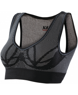 Reinforced sports bra with carbon Underwear®