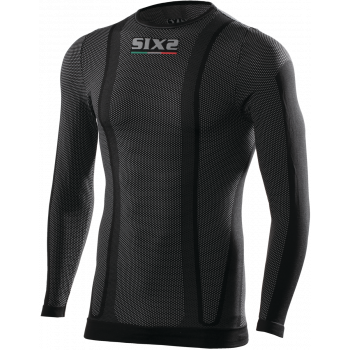 TS2W Long-sleeve round neck jersey thermo carbon Underwear®