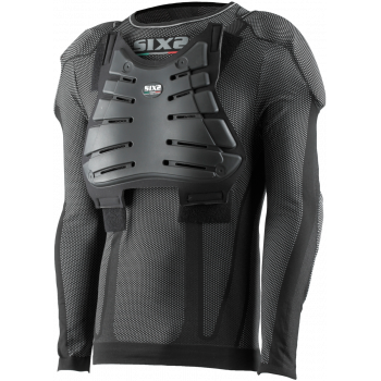 TS2 Protective long-sleeve round neck jersey kids carbon Underwear®