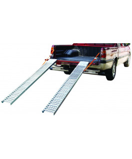 Anti-skid steel ramp
