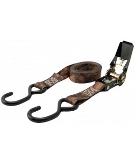 Camo ratcheting tie-downs