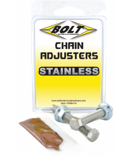 Chain adjuster nut & bolt assembly