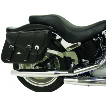 Classic Indiana Leather Tek saddlebags Parts & Other Accessories