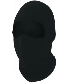 Coolmax balaclava with neoprene half-mask