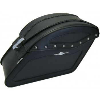 DAKOTA SADDLEBAG WITH LOCK AND NO STUDS Parts & Other Accessories