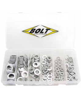 Drain plug washer assortment
