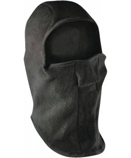 Fleece balaclava with velcro closure
