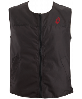 High performance heated sleeveless vest