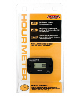 Hour meter for gasoline engine