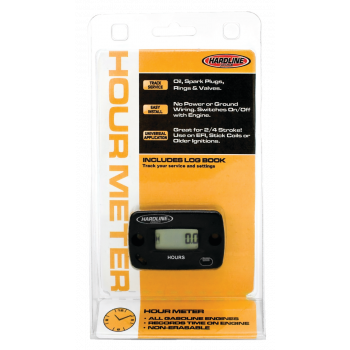 Hour meter for gasoline engine Lubricants & Chemicals
