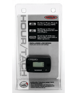 Hour/Tach meter 2-cylinder or less gasoline engine